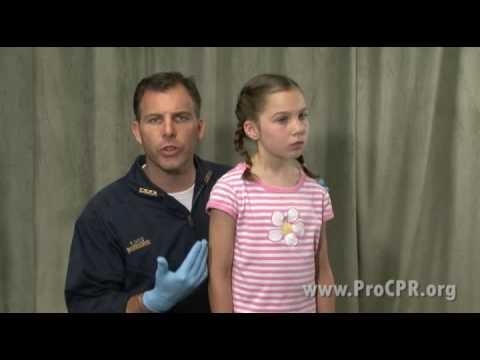 Conscious Child Choking