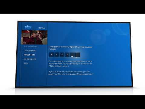 Reset Your PIN on Sky Q - Sky Help