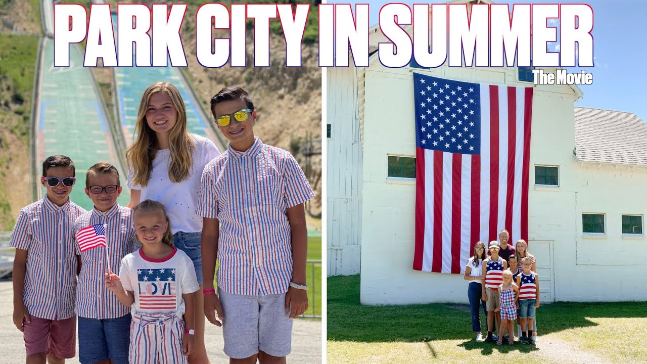SHOPPING SPREES, FIREWORKS, AND ROLLER COASTERS | PARK CITY IN SUMMER | THE MOVIE