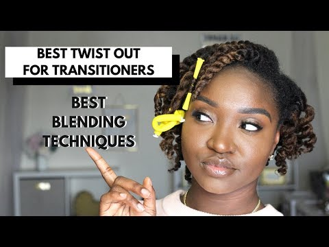 Best Twist Out for Transitioners | Smooth n Shine NEW Camellia Oil and Shea Butter Collection
