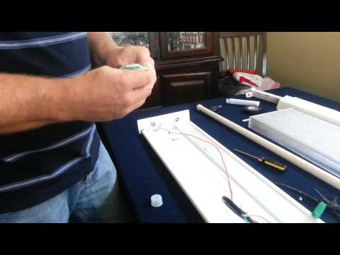 How to wire 4ft led lights