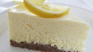 Lemon Cheesecake (no Bake!) | One Pot Chef