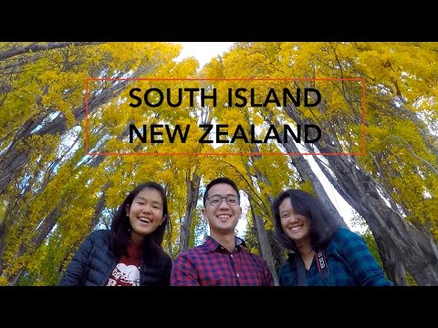 South Island - New Zealand Road Trip - Travel Adventure 2017 - (GoPro Hero 5)