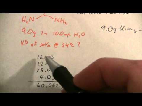 Determining Vapor Pressure of Solution