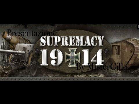 IL GIOCO DI GUERRA DELL'ANNO: SUPREMACY1914
