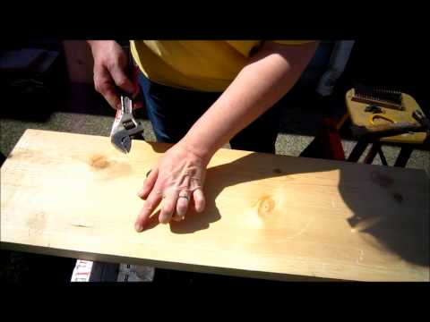 DIY: How To Distress Wood -Make Your Own