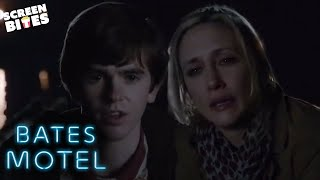 Norman and Norma Dump Their First Body | Bates Motel | SceneScreen