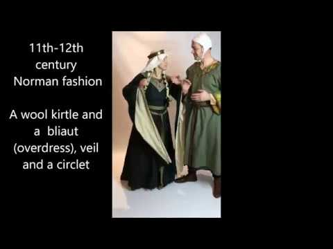 500 years of Medieval Fashion