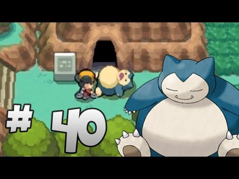 Let's Play Pokemon: HeartGold - Part 40 - Snorlax