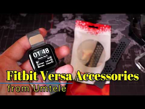 Fitbit Versa - Awesome accessories from Umtele!
