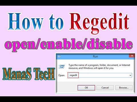 How to run/open/enable/disable Regedit : gpedit.msc