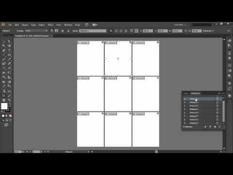 Adobe Illustrator CS6:4.Setting Up Multiple Artboards