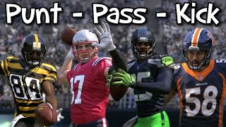 MADDEN 17 KICK PUNT PASS COMPETITION!! Which NFL Superstar Will Win???