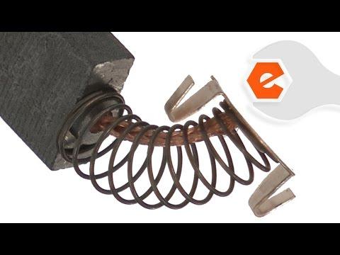 Chop Saw Repair - Replacing Carbon Motor Brushes (DeWALT Part # N408735)