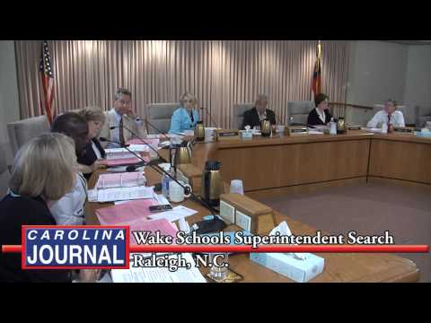 Wake County Board of Education Begins Superintendent Search