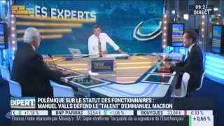 Charles Gave - Interventions Sur Bfm Business 21/09/2015