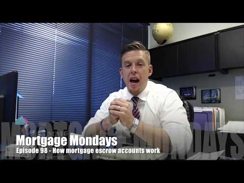How mortgage escrow accounts work | Mortgage Mondays #98
