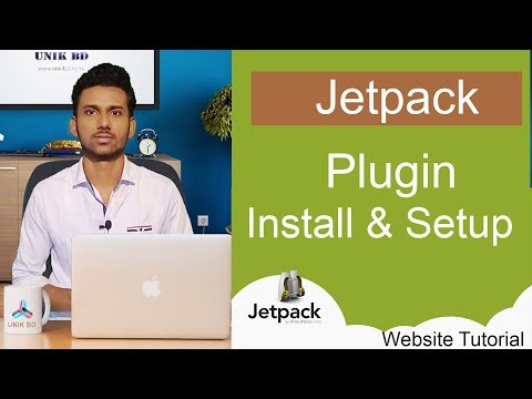 Jetpack Plugin Install and setup Bangla Tutorial