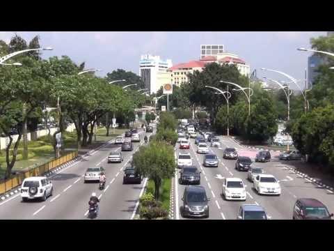 Random Traffic Scenes in Kuala Lumpur City
