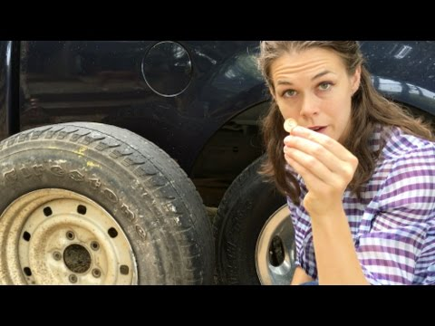 Checking Tire Tread Depth - Things Even a Monkey Should Know