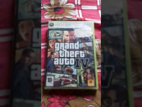XBOX 360 GTA 4 GIVEAWAY AND UNBOXING