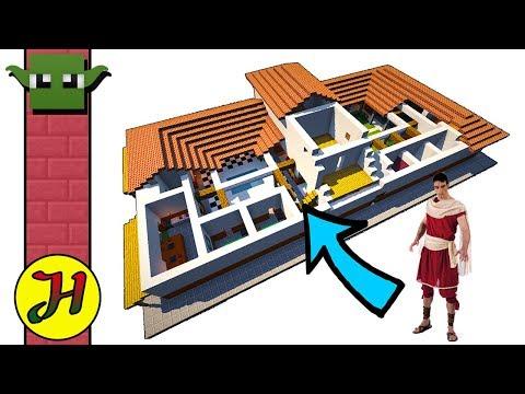 MINECRAFT ROMAN VILLA -  (EASY Build 05)