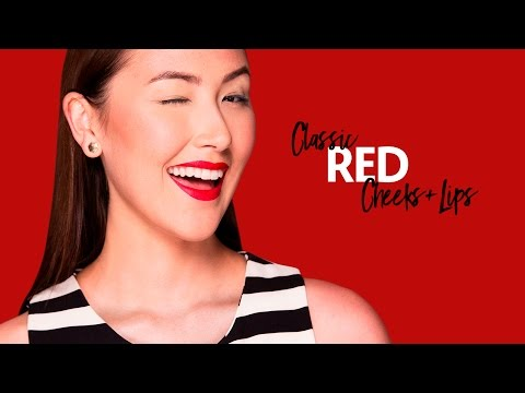 Play, Experiment, Transform with Classic Red Cheeks + Lips