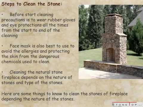 How To Clean Fireplace Stone – Stone Top Inc.