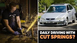 Can You Daily Drive A Car With Cut Springs?