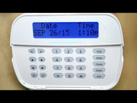How to Set Date and Time on a DSC Panel