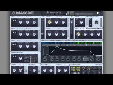 Big Room EDM Synth Massive Tutorial
