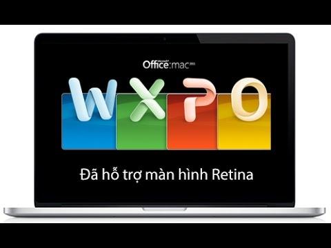 Office cho macbook - Office Full Free cho Macbook
