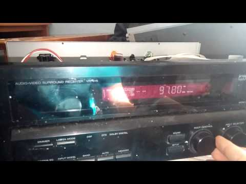 Kenwood receiver VR-615 display issue semi fixed