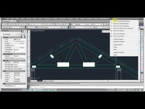Program to draw trusses in AutoCAD - TrussCAD