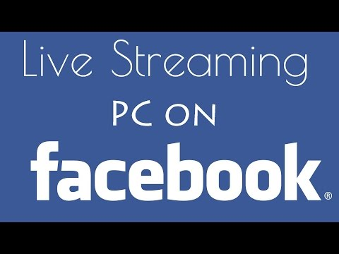 How to Live Stream Facebook on PC