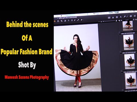 Indian wear photoshoot | fashion photographer at work