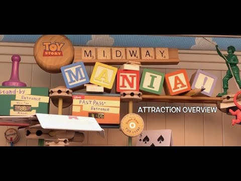Attraction Overview: Toy Story Mania! - Walt Disney World