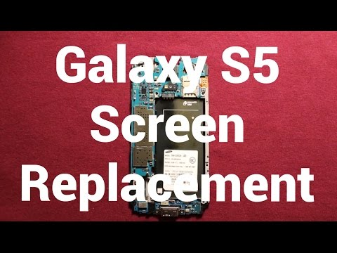 Samsung Galaxy S5 Screen Replacement Repair How To Change