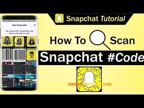 How To Scan Snapchat Code