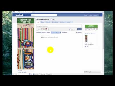 How To Create a Facebook Fan Page - PART ONE