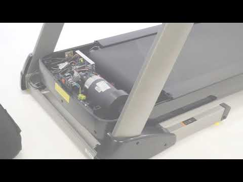 How to change the high motor cover on a T990A treadmill ?