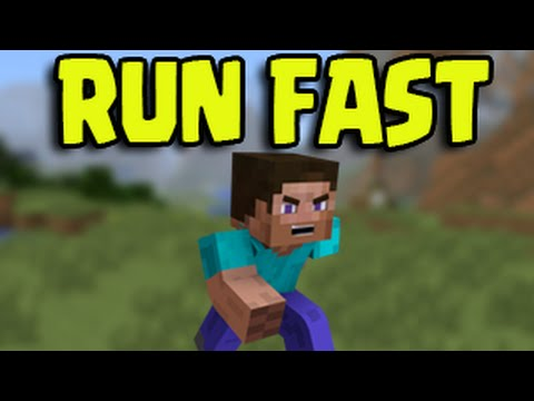 Minecraft PS3, PS4, Xbox, Wii U - RUN FAST! Faster Than a Minecart