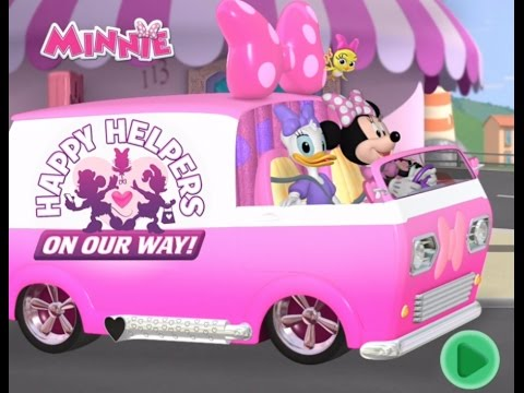Minnie Mouse: Happy Helpers - Mickey Mouse Roadster Racers - Disney Junior App For Kids full episode