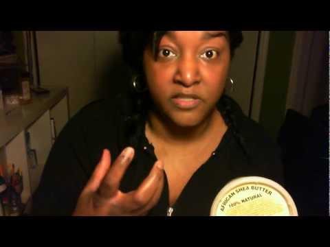 NO make-up Shea Butter Results.wmv