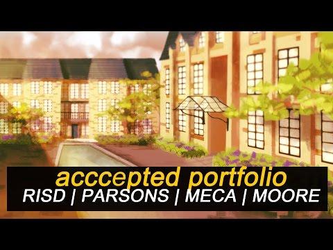 Accepted Art Portfolio | RISD / PARSONS / MECA / MOORE