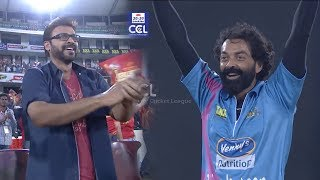 Super Exciting Semi Final Match Between Telugu Warriors Vs Mumbai Heroes