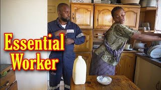 Sbongile noMdu - Essential worker