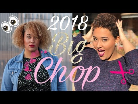 Big Chop: Cutting off all my natural hair