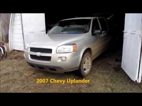 Brief 2007 Chevy Uplander Info with ABS issue