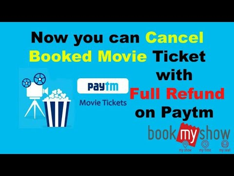 How to cancel your booked movie ticket